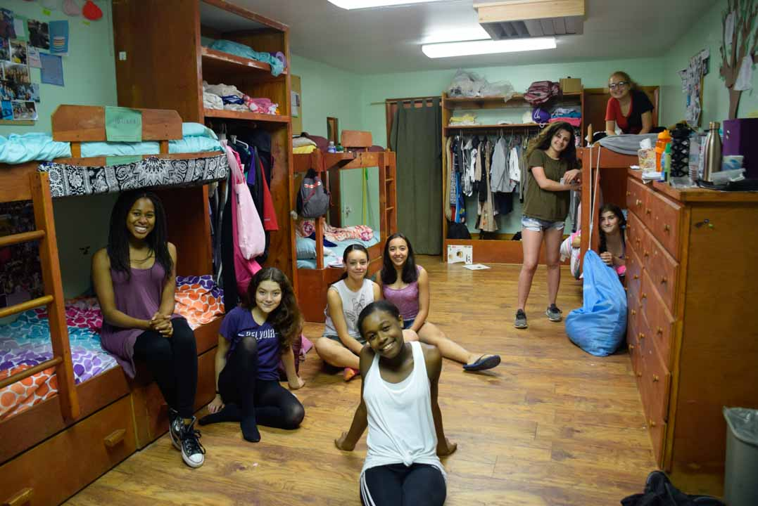 Girls Summer Camp Grove Picture