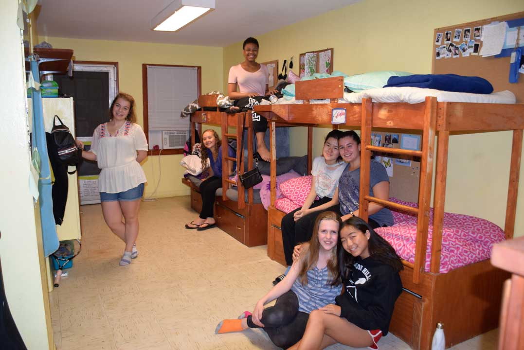 Girls Summer Camp Lodge Picture
