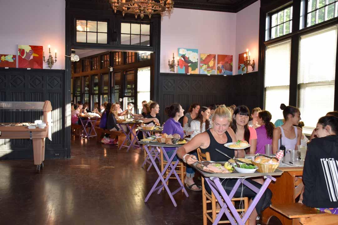 Girls Summer Camp - Belvoir Terrace - Camp Life Food -13