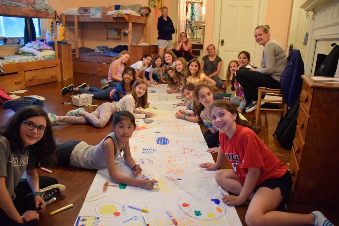 Girls Summer Camp Bunks - Belvoir Terrace - Camp Life-6
