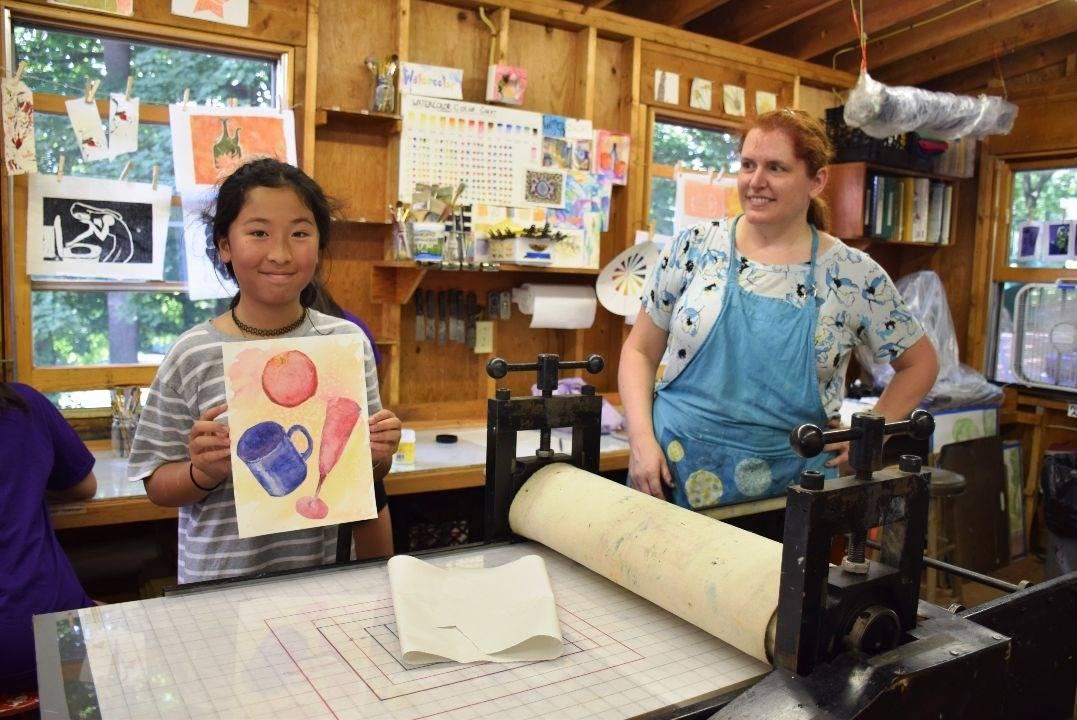Art Camp For Girls - Printmaking