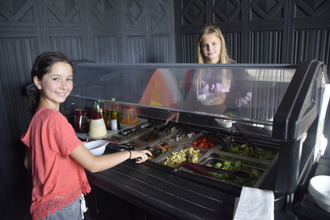 Girls Summer Camp - New Salad Bar Picture